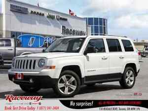 2014 Jeep Patriot ***LIMITED***RARE 4X2***GREAT KMS***