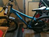 Excellent Voodoo Hoodoo mountain bike for sale. Carbon Handle Bars