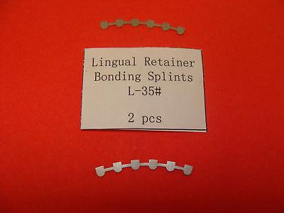 Lingual Retainer Bonding Splints Orthodontic 2 Orthom