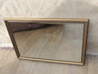 Stylish mirror in wooden frame (Delivery)