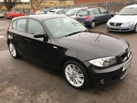 BMW 118d M SPORT 6 SPEED MANUAL BLACK