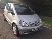 1.7 A170 CDI ELEGANCE 5dr (LWB) 51 REG IN SILVER WITH FULL SERVICE HISTORY AND MOT MAY 2018