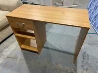 WOODEN COMPUTER DESK WITH DRAWER