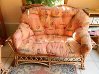 2 Seater Wicker Chairs/Sofas