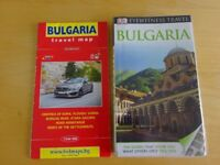 Bulgaria travel guide and map for sale  Bristol