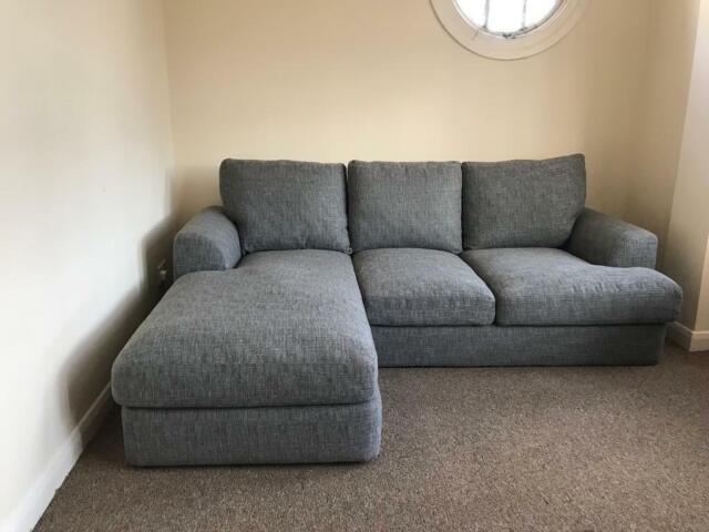Astonishing Grey Next Stratus V Domed Comfort Corner Chaise Sofa Left Hand 4 Seats In Leigh On Sea Essex Gumtree Ibusinesslaw Wood Chair Design Ideas Ibusinesslaworg