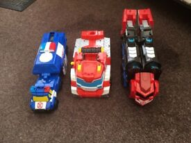 3 Transformers Toys - £5.00 Ono