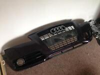 Audi s line front bumper