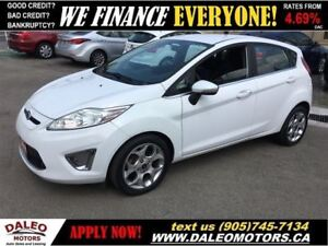 2011 Ford Fiesta SES 1 OWNER 74 KM LEATHER