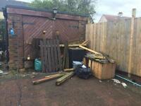 Garden clearance needed £50