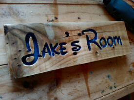 Hand made Wooden Signs- Made To Order
