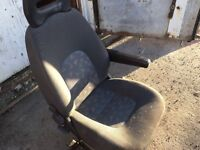 Fiat Ducato & Citroen Relay Front Drivers Seat