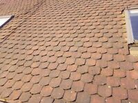 secondhand clay tiles extra long bullnose