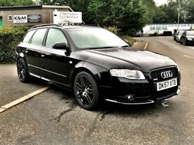 57 Audi A4 Avant 2.0 TDI S line Special Edition 170bhp, Finance Available, AA Approved