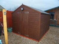 10 x 8 Tongue and Groove shed