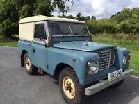 Land Rover Series 3 1983