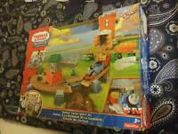 Fisher Price trackmaster thomas and friends castle crown train track set