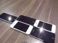 5 FAULTY IPHONES FOR SPARES/REPAIR ONLY