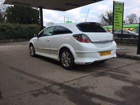 2008 1.6 Vauxhall Astra white 3 door full xp pack with aux port and 12 months mot