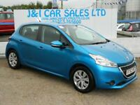 PEUGEOT 208 1.4 ACCESS PLUS HDI 5d 68 BHP A GREAT EXAMPLE INSI (blue) 2013