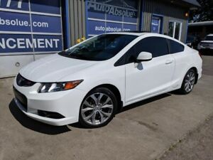 2012 Honda Civic Coupe Si + Toit + Navi + 56 000 Km