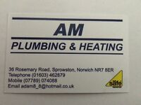 Am plumbing & heating.. For all your plumbing & heating requirements, heating installations,