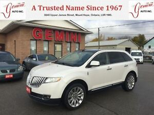 2011 Lincoln MKX Pano Roof Navi Camera AWD