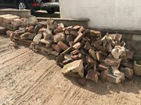 RUBBLE/ Stone/ Bricks with Easy Access (Great for Driveway and Patio Foundations)