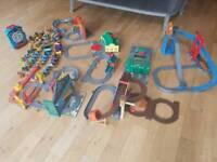 Huge bundle of Thomas the tank engine take & play tracks & trains