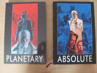 DC Wildstorm Planetary Warren Ellis John Cassaday Absolute Editions Super-rare new graphic novels