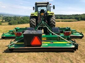 2014 Major TDR16000 Trailed Batwing Wide Area Mower - 16ft Cut