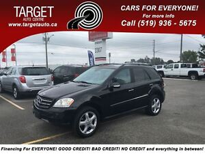 2008 Mercedes-Benz M-Class Loaded; Leather, Navi, Back-Up Camera