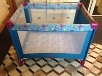 Travel cot used few times
