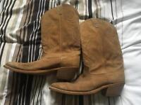 Men's Cowboy Boots, Size 9.5D US