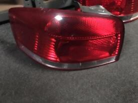 2006 Audi A3 3 door passenger side rear toe light fits from 04/2009
