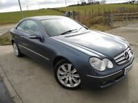 MERCEDES-BENZ CLK 3.0 CLK320 CDI ELEGANCE 2d AUTO 222 BHP 6 Month RAC Parts & Labour Warranty