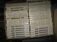A large collection of used reel tapes (£1.00 each )