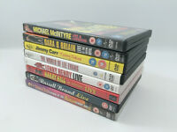 8 x Stand Up Comedy DVD's Including Peter Kay, Jimmy Carr and Lee Evans
