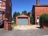Garage for rental, 18 feet x 13 feet. West Didsbury £140 pcm. Ideal for vintage car/storage/parking
