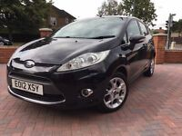 Full Ford Dealer Service History, £20 Road Tax, Ford Fiesta 1.4 TDCI Zetec Diesel Black Manual
