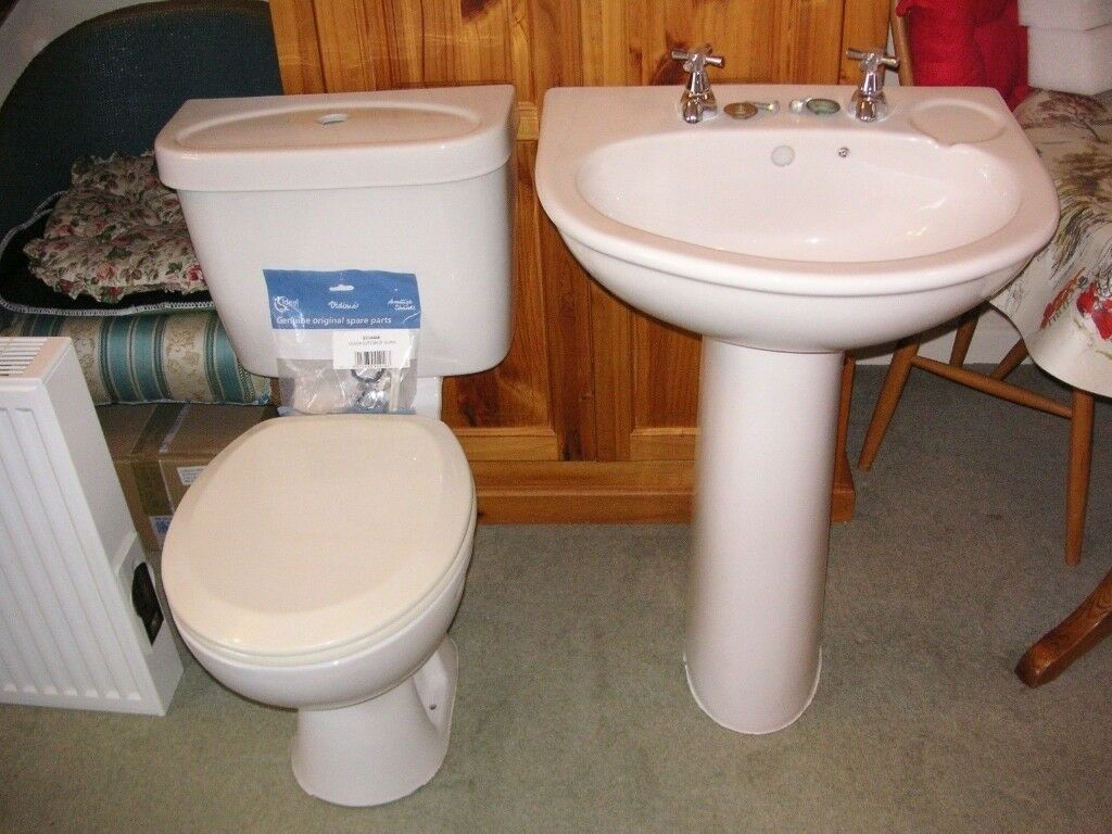 WHITE TOILET AND WASH HAND BASIN | in Cirencester, Gloucestershire ...