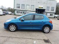 2008 Peugeot 207 full 1 year mot