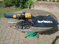 WORX LEAF BLOWER AND VACUMN