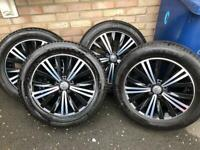 Vw Tiguan 18inch alloy wheels with tyres