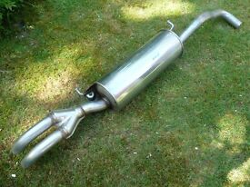 AUDI 97/98 A4 TDI GENUINE REAR SILENCER