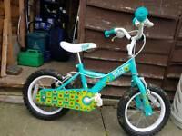 Girls Bike. 14 inch wheels. Have stabilisers