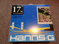 "Hanns G 17"" PC Monitor Display"