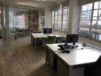 4 desk spaces available - Chaos Design, Northington Street