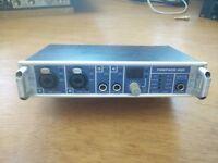 Audio/MIDI Interface - RME Fireface 400