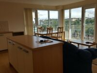 Fully furnished 2 bed flat with balcony and parking in Slateford